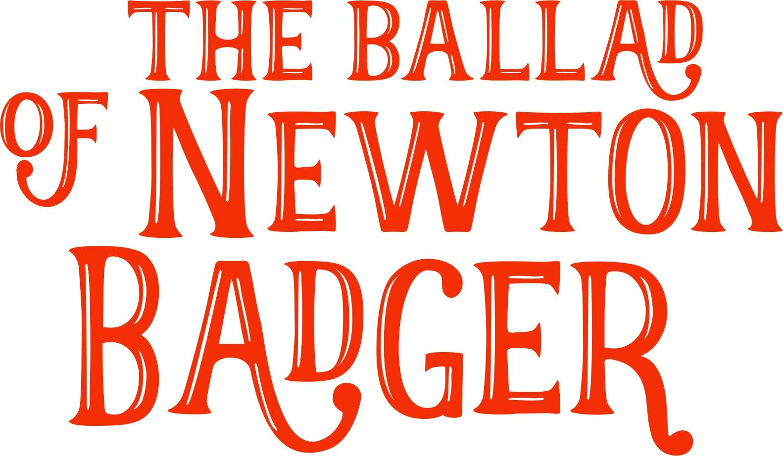 the ballad of newton  badger_logo