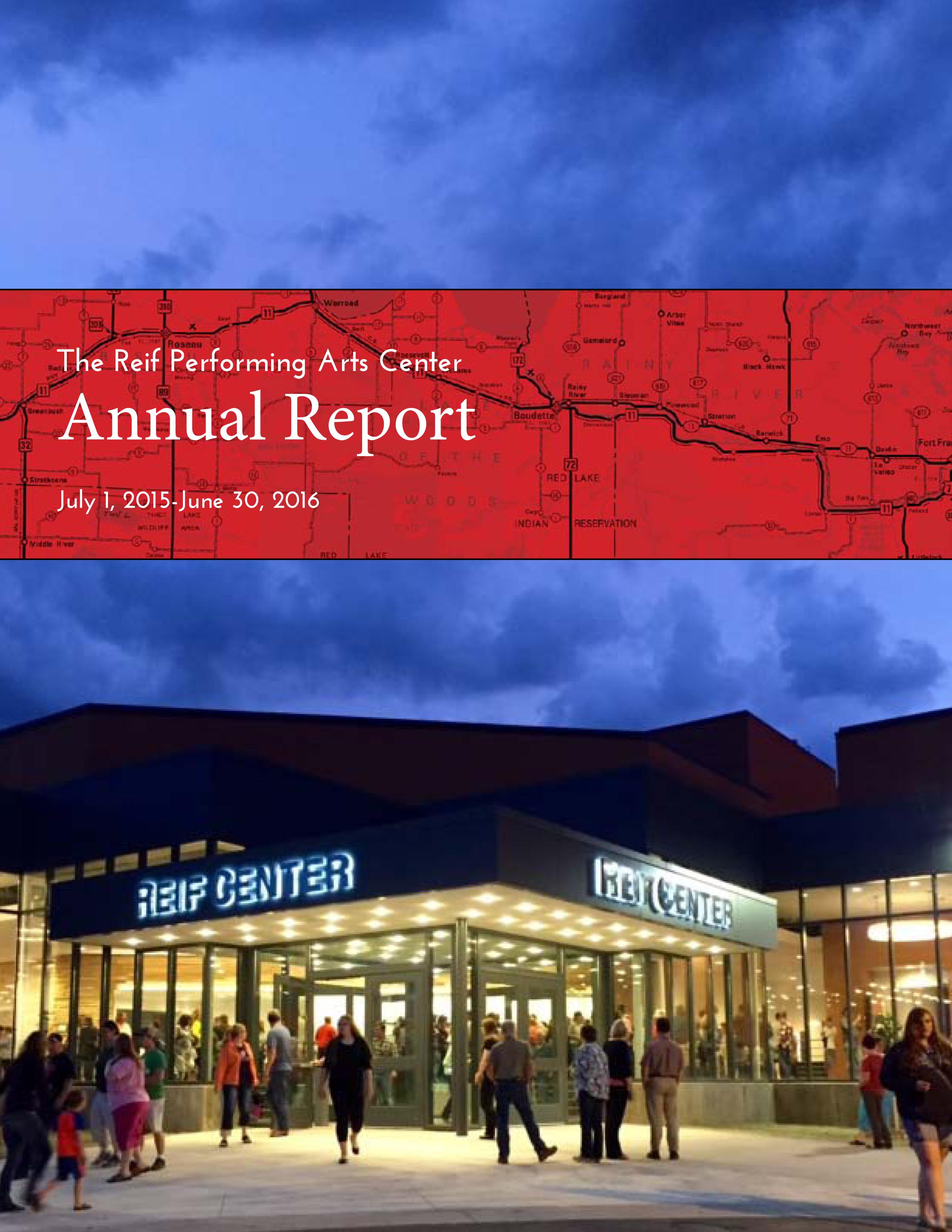 2015-2016 Annual Report 1