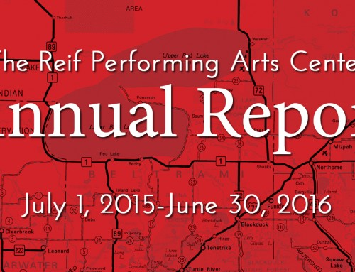 The Reif Center's 2015-2016 Annual Report