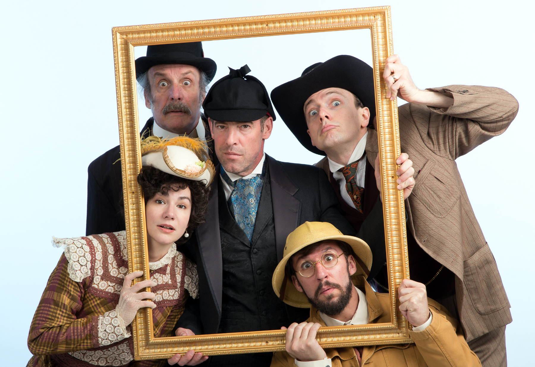Baskerville: A Sherlock Holmes Mystery c.Mark Garvin
